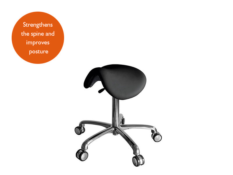 Titan Saddle Stool